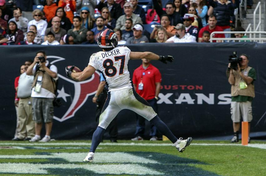 what number is eric decker on the broncos