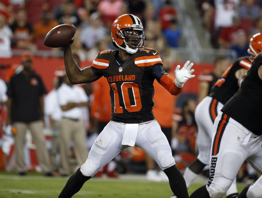 Cleveland Browns: A Look at QB No. 10 Robert Griffin IIII