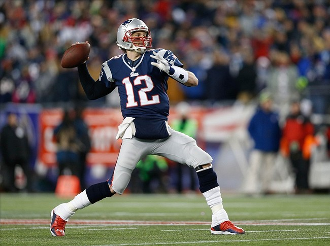 Tom Brady is more confident throwing the football