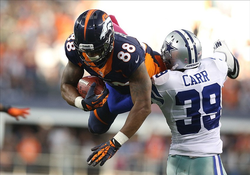 Dallas Cowboys Brandon Carr Gets Nfl Spin Zone Player Of