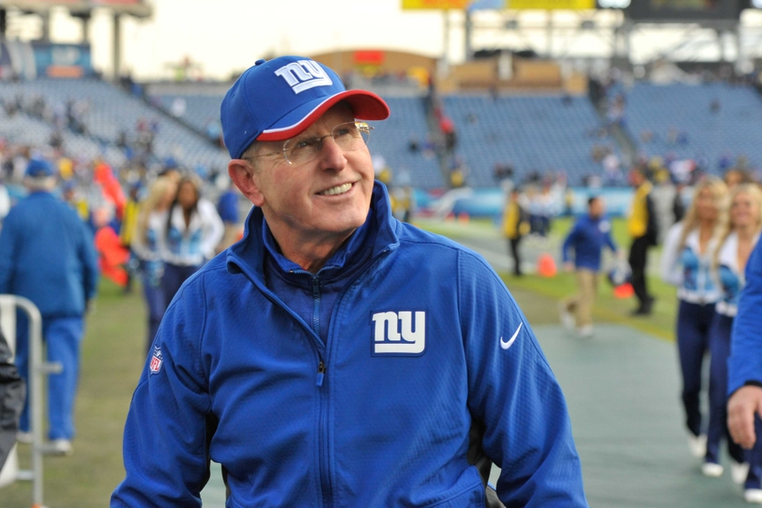 dec 7 2014 nashville tn usa new york giants head coach tom coughlin leaves the field after his team defeated the tennessee titans 36 7 during the - Nfl On Christmas 2014