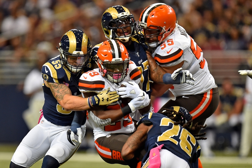 8f465c4ed8a Cleveland Browns  Beginning of the End for Isaiah Crowell