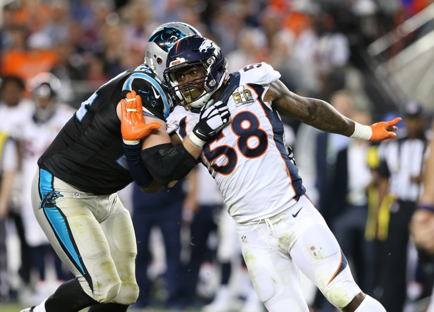 free shipping 0af12 9ca71 Von Miller no lock to stay in Denver; 3 possible destinations