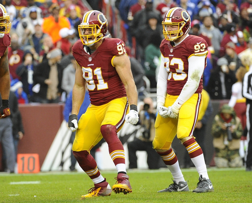 official photos eb6c0 476ec Washington Redskins: Ryan Kerrigan should shift inside