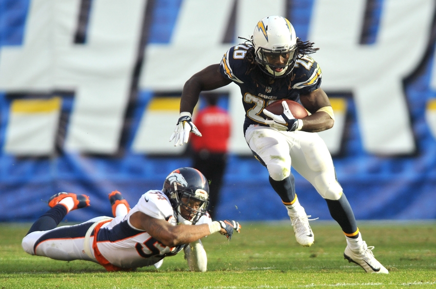 Starting Running Back For San Diego Chargers Provincial