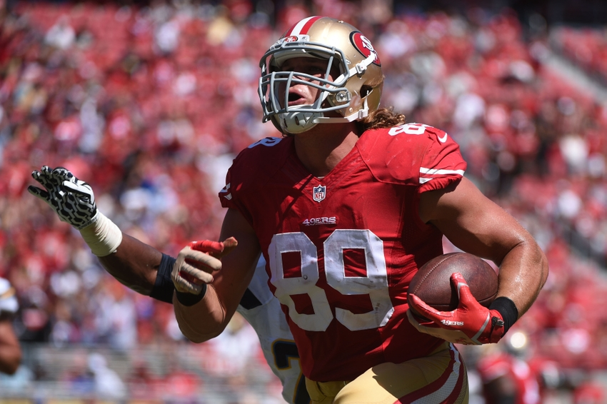 5 players the san francisco 49ers could trade away in 2016 vance mcdonald m4hsunfo