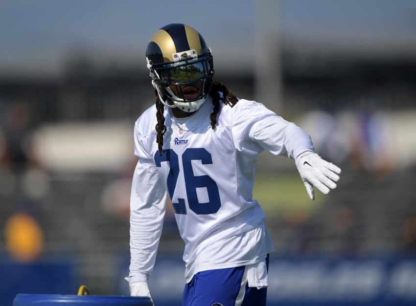 buy popular 6e1cf 2cae9 What Can The Los Angeles Rams Expect From Mark Barron?