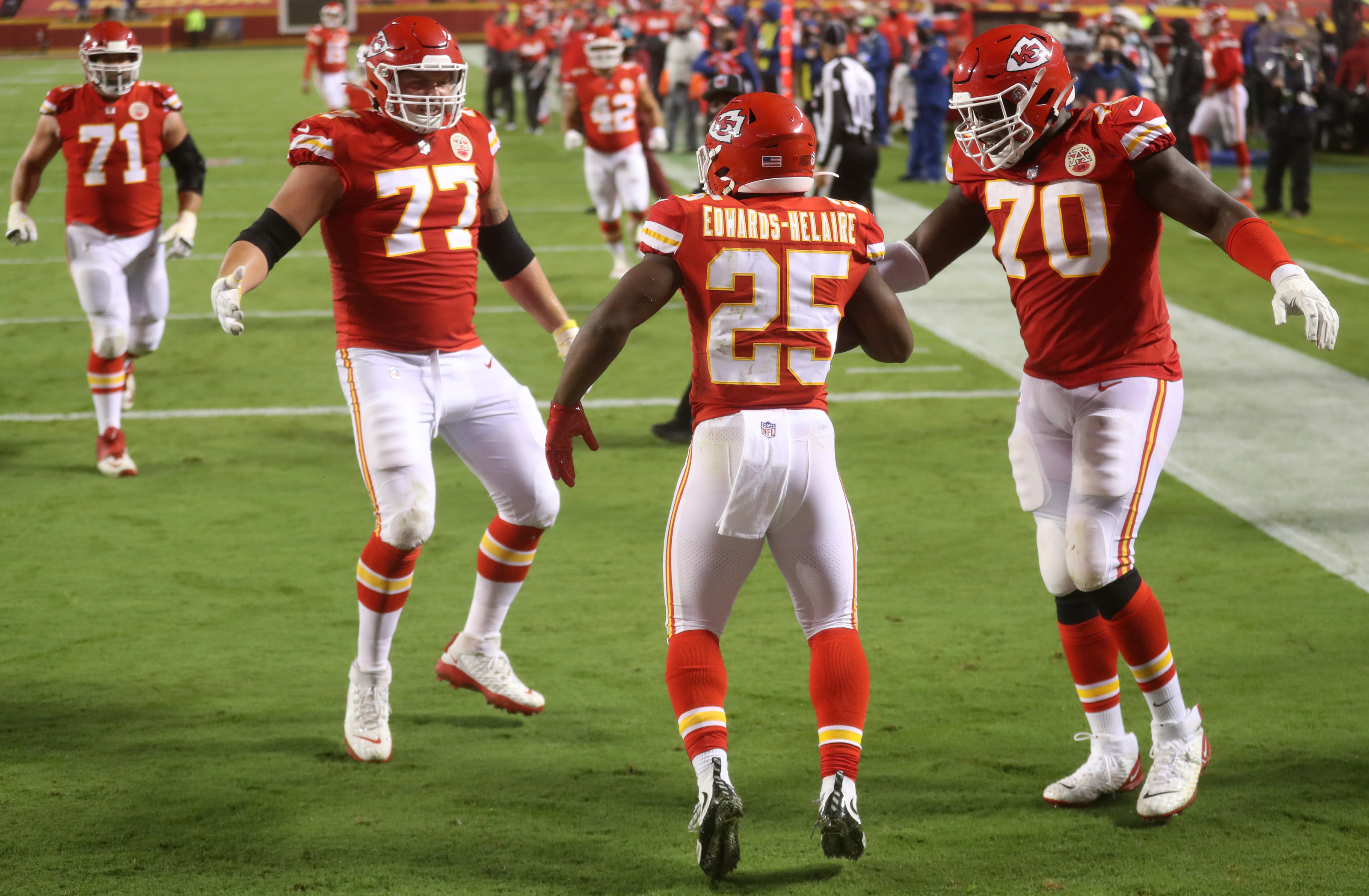 Kansas City Chiefs: Clyde Edwards-Helaire wasting no time breaking out