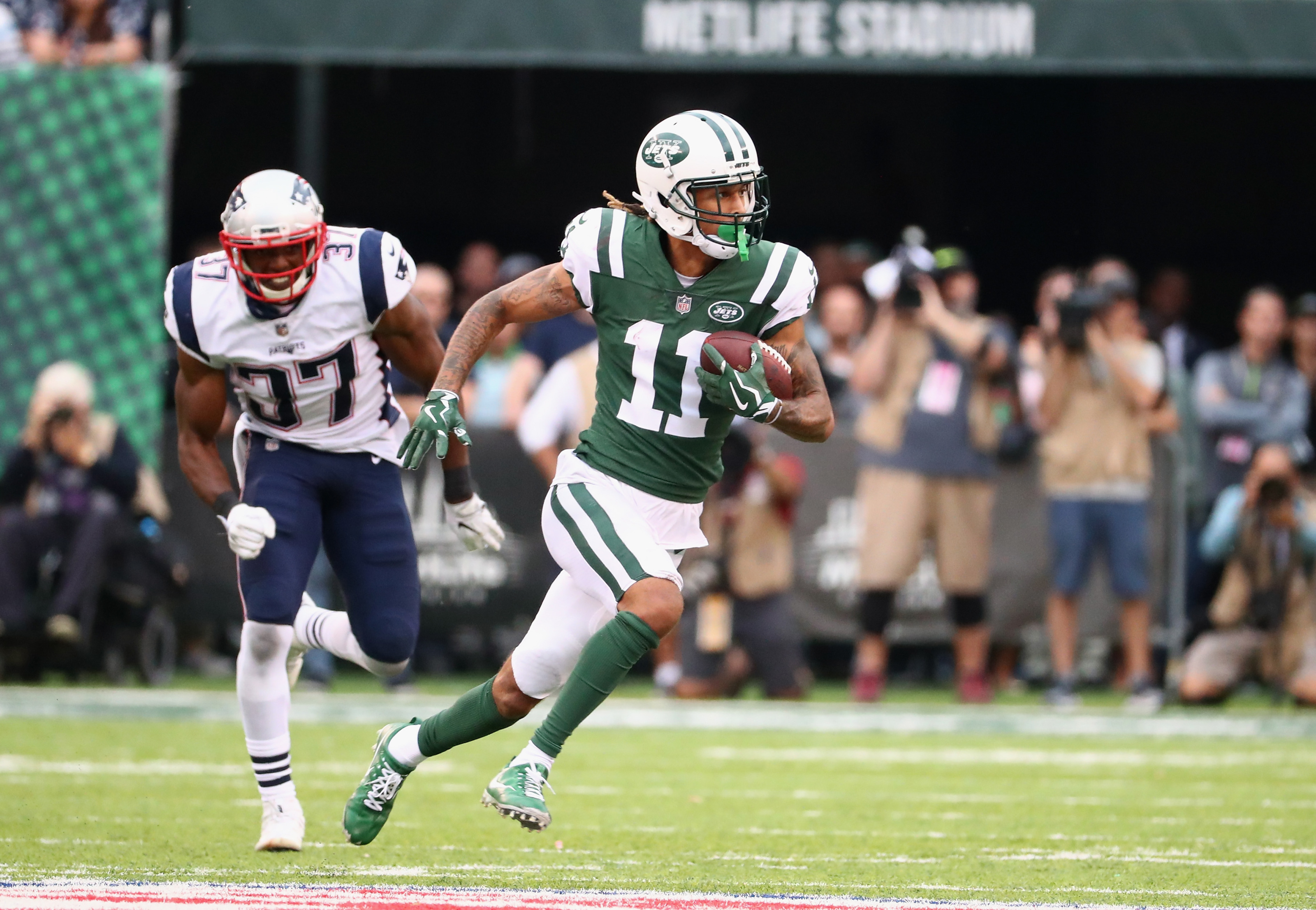 New York Jets 2018 Training Camp Profile: Robby Anderson
