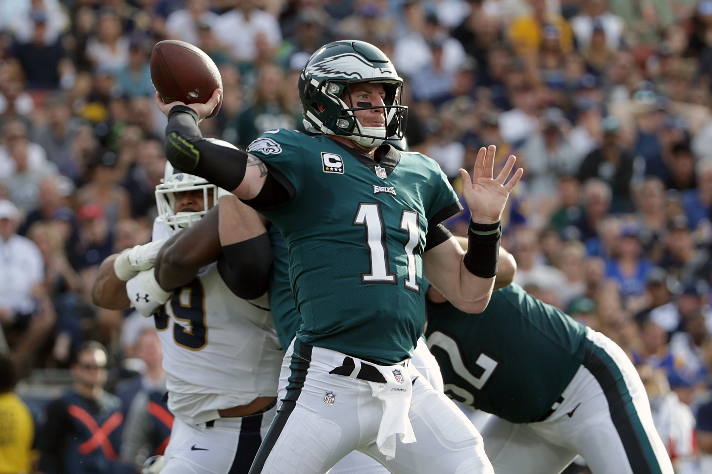Philadelphia Eagles Comparing Carson Wentz To All Time Great Qbs