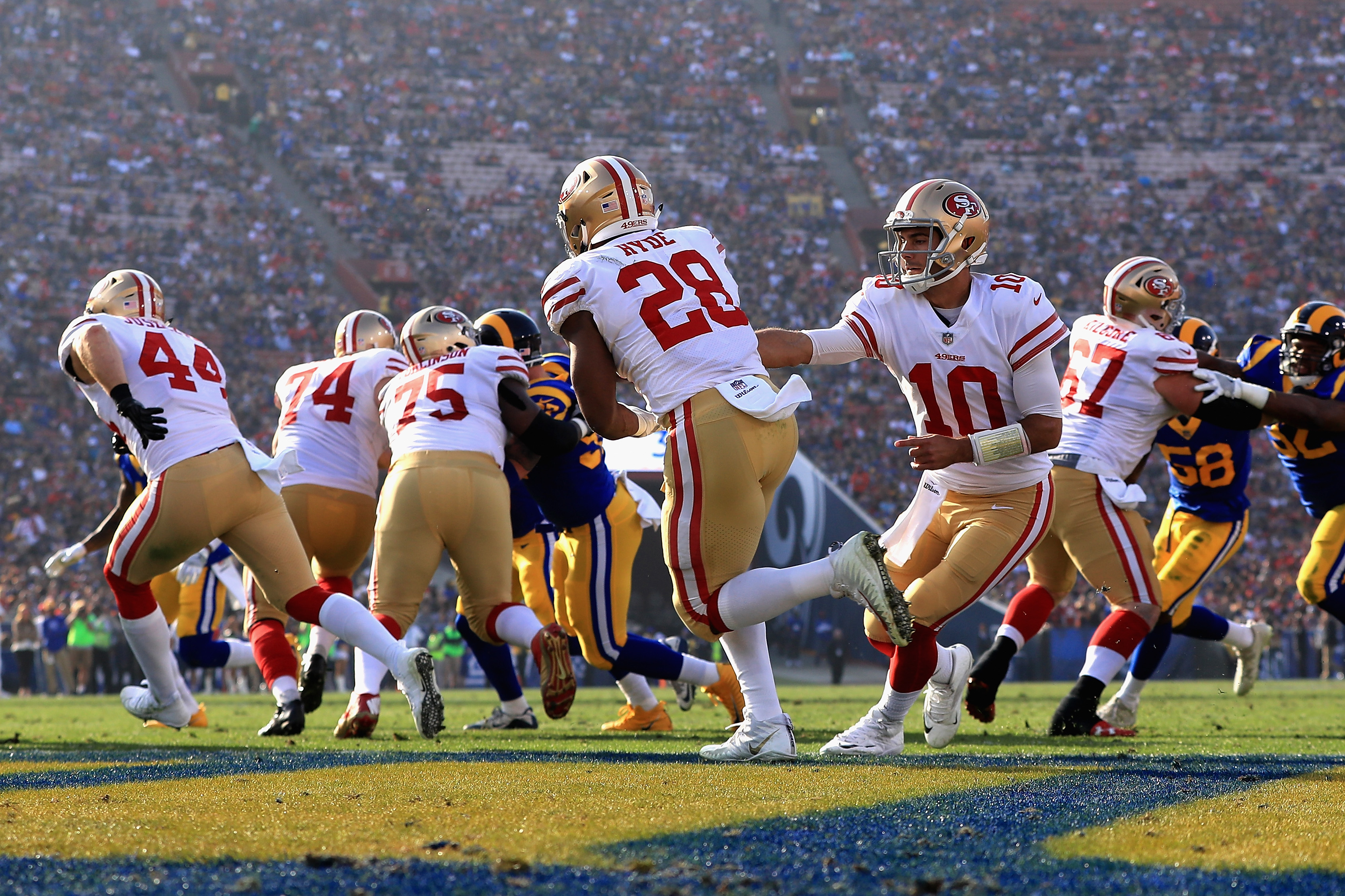Marquise Goodwin: San Francisco 49ers sign WR to three-year extension