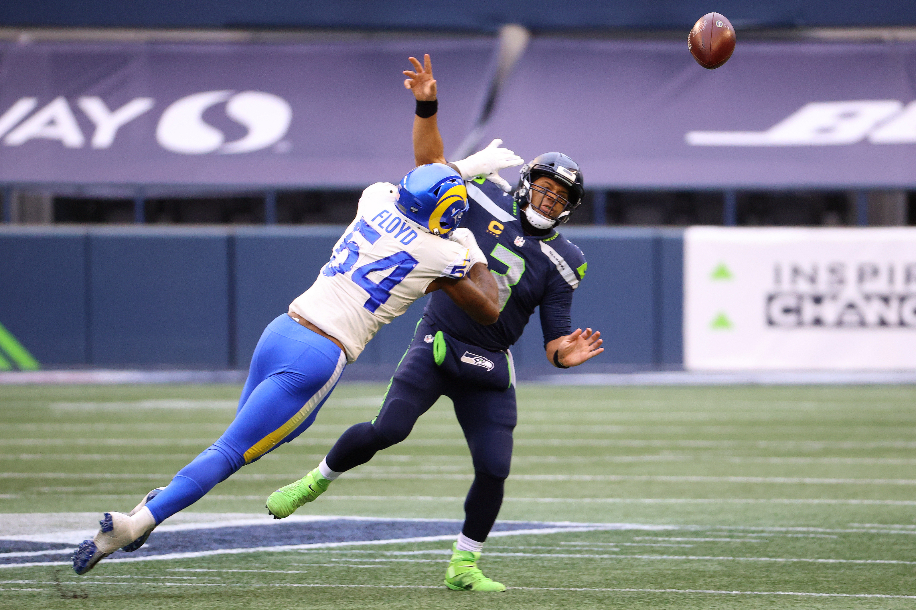 Russell Wilson can't escape the Los Angeles Rams