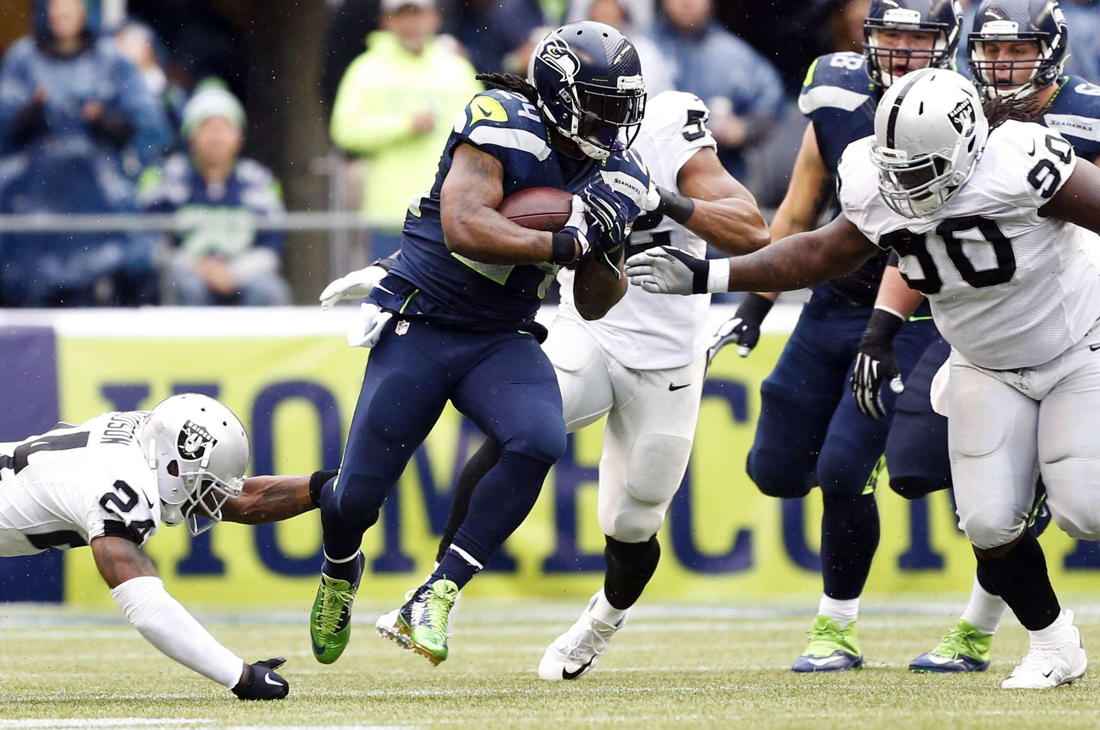 Oakland Raiders Marshawn Lynch S Mindset Will Dictate Potential Fit