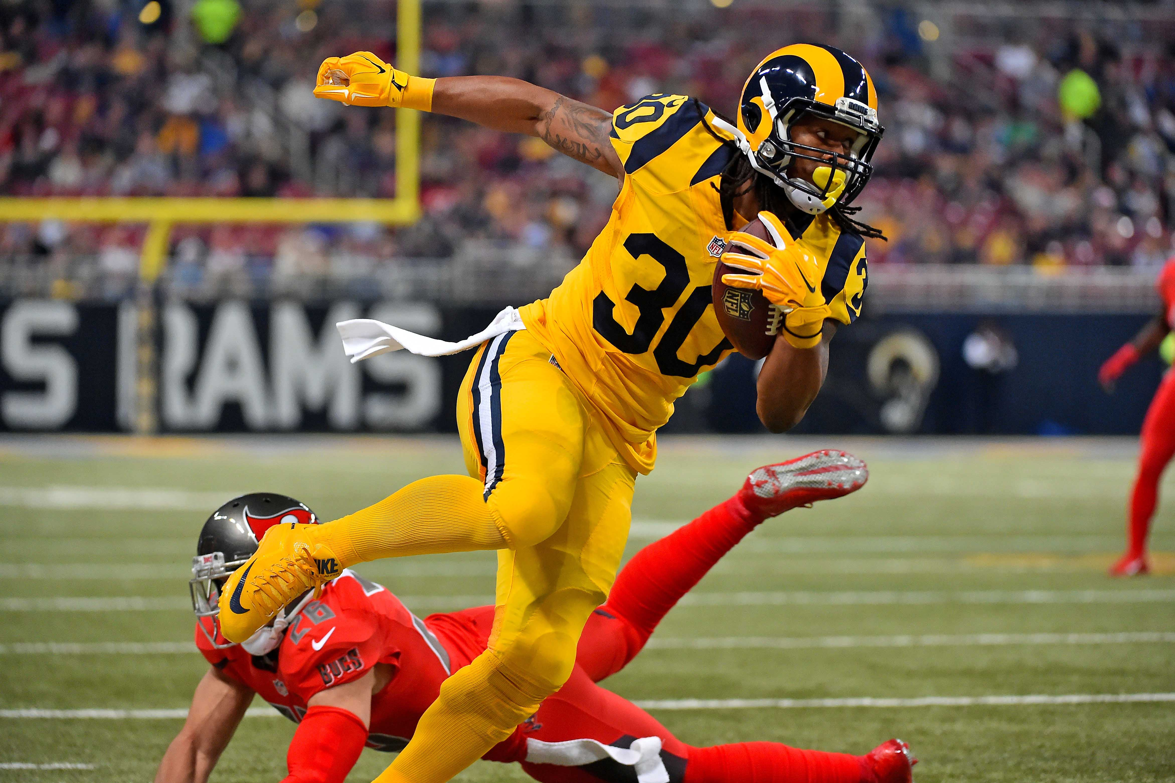 Los Angeles Rams 3 Bold predictions for Todd Gurley in 2017 Page 4