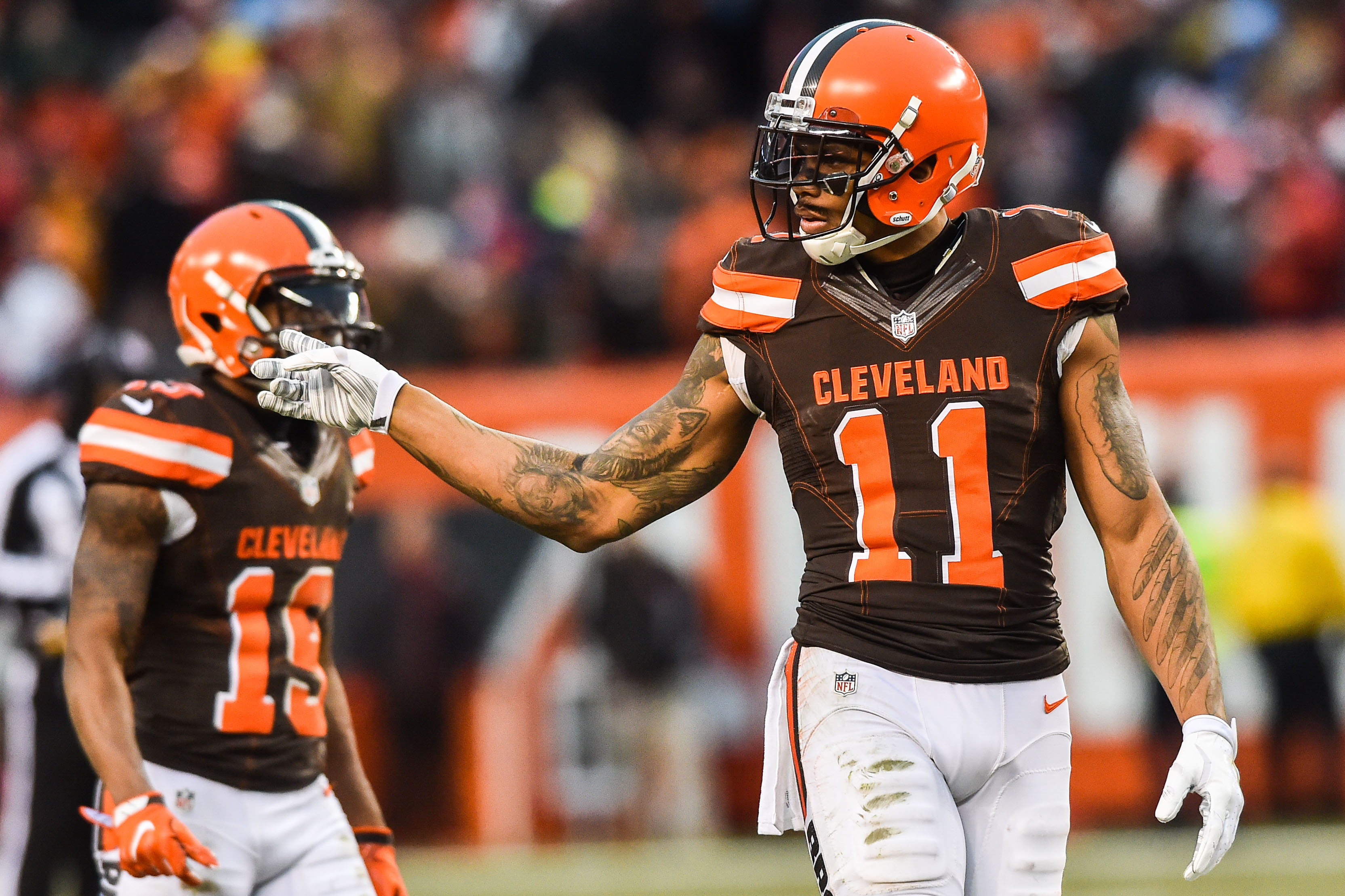 Cleveland Browns Looking At The Wide Receivers From 2016