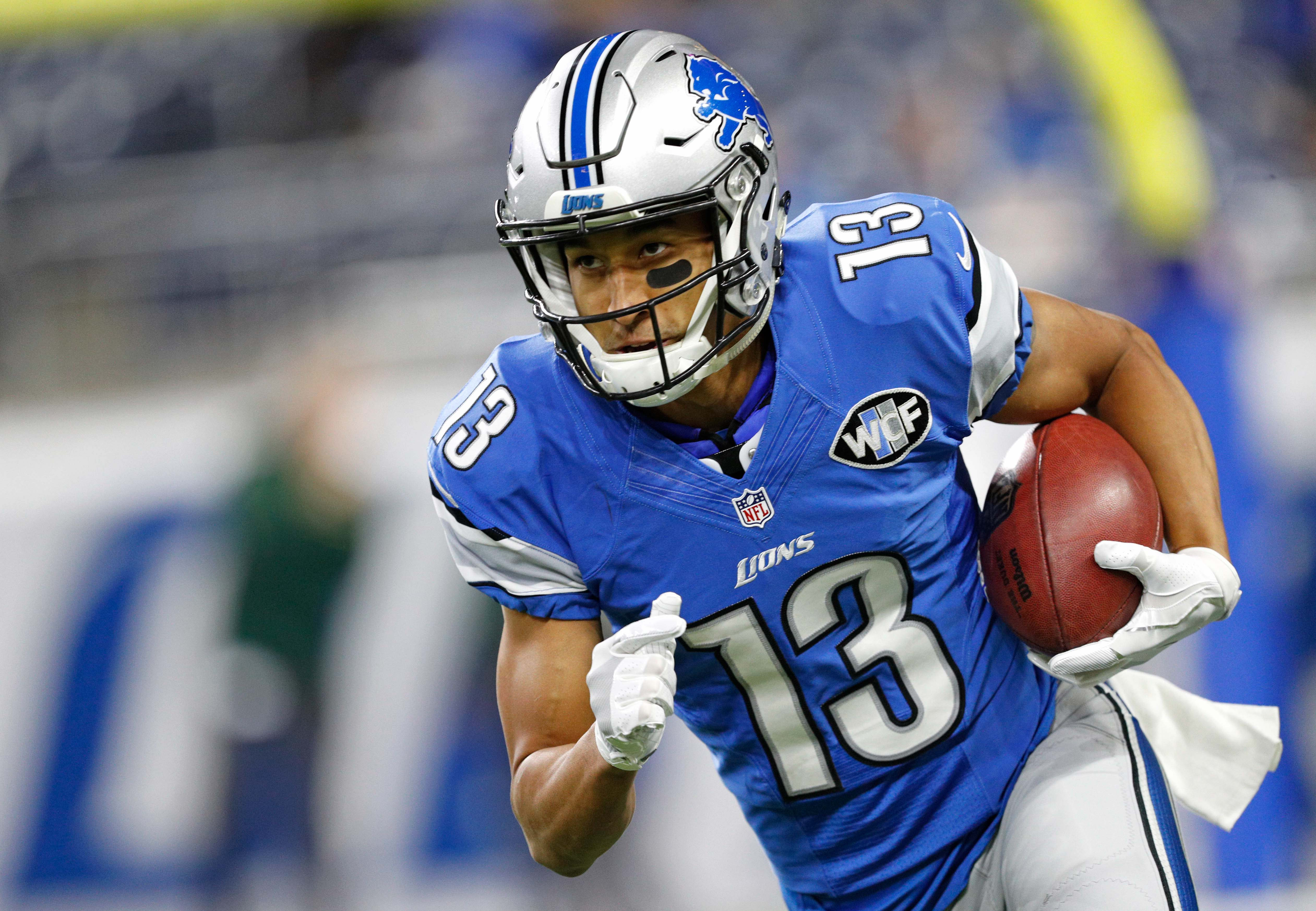 Nf Nfl Free Agents 2016 Rankings - Jan 1 2017 detroit mi usa detroit lions wide receiver t j jones 13 runs with the ball before the game against the green bay packers at ford field